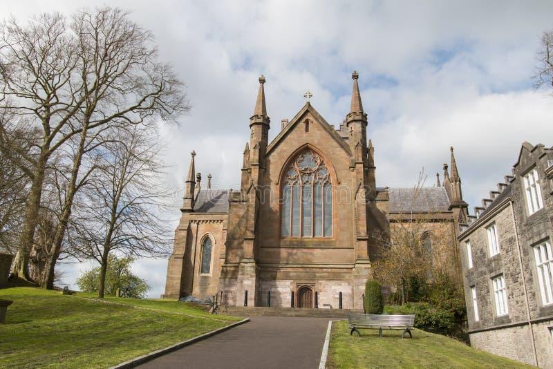 Iglesia Armagh de los patricks del St fotos de archivo libres de regalías