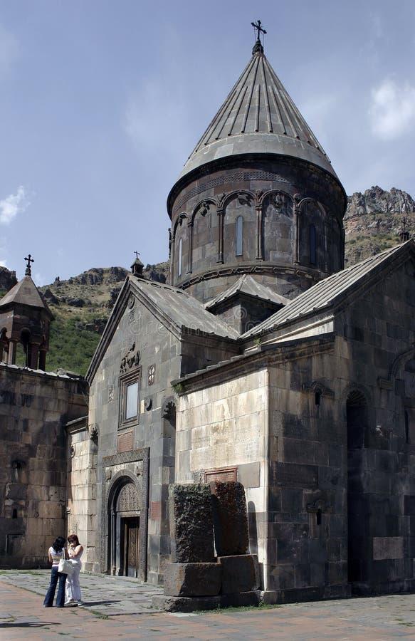 Iglesia armenia foto de archivo