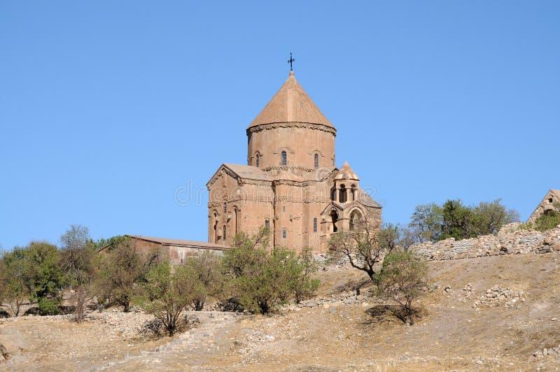 Iglesia armenia de Akdamar en pavo del este imagen de archivo libre de regalías