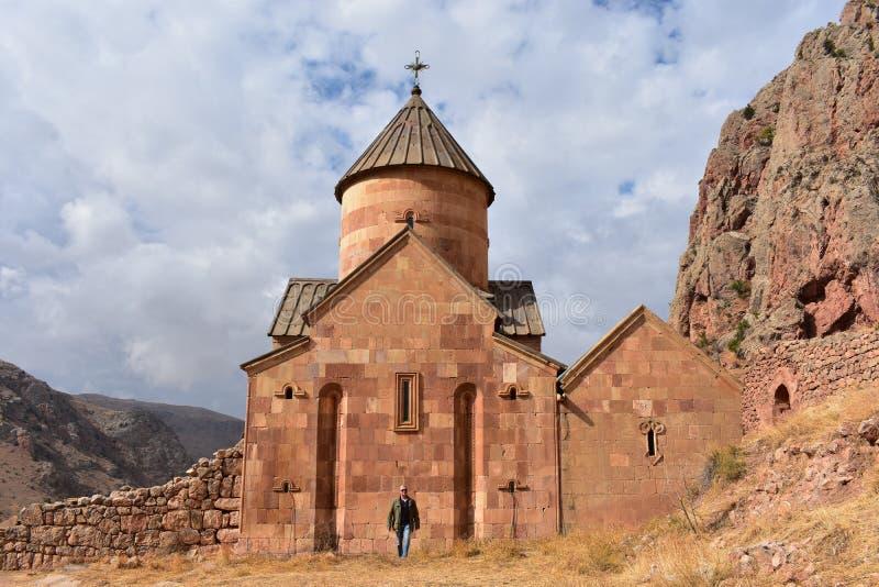 Iglesia armenia Noravank imagen de archivo