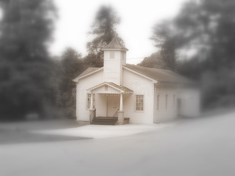 Iglesia baptista de Estatoe foto de archivo