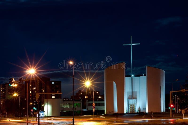 Iglesia bendecida de Maria de Virgen fotografía de archivo libre de regalías