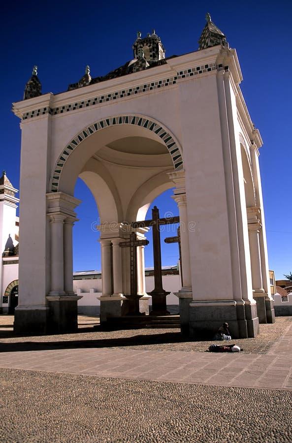 Iglesia Bolivia foto de archivo libre de regalías