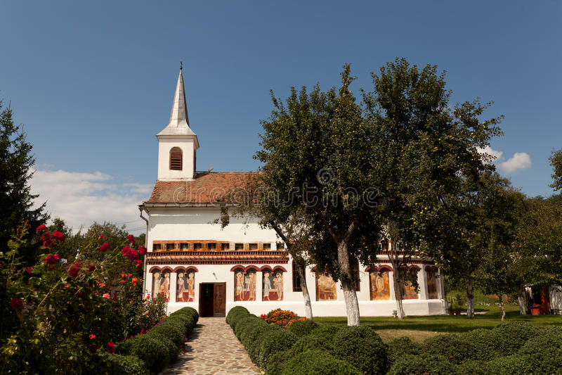 Iglesia Brancoveanu foto de archivo libre de regalías