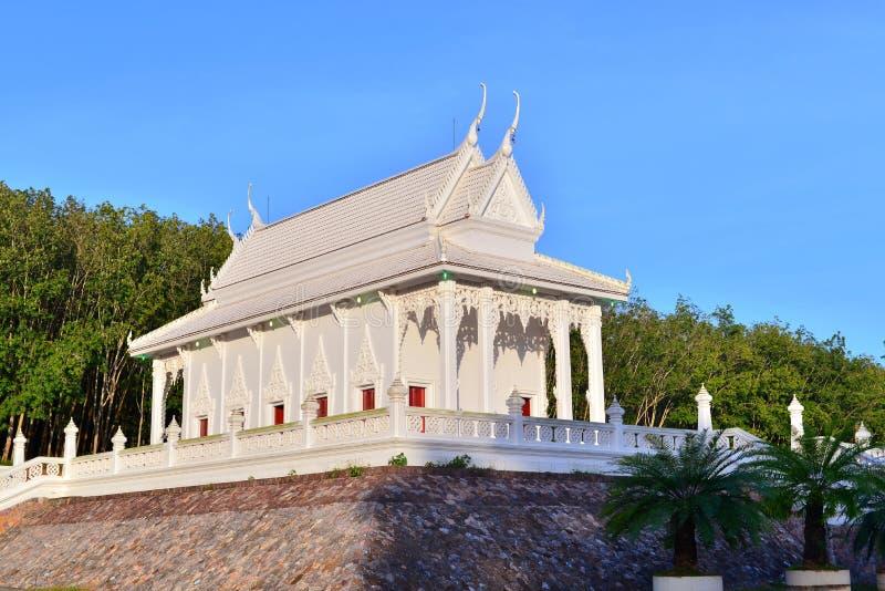 Iglesia budista fotografía de archivo libre de regalías