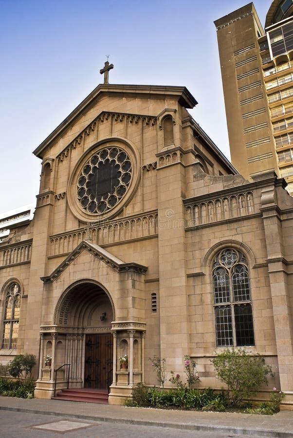 Iglesia católica de la trinidad santa imagen de archivo