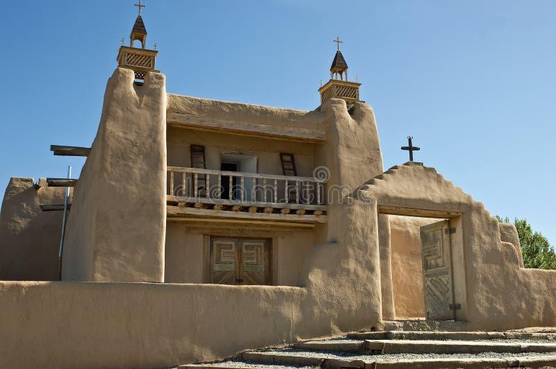 Iglesia católica de San Jose de Gracia, Las Trampas imagen de archivo libre de regalías