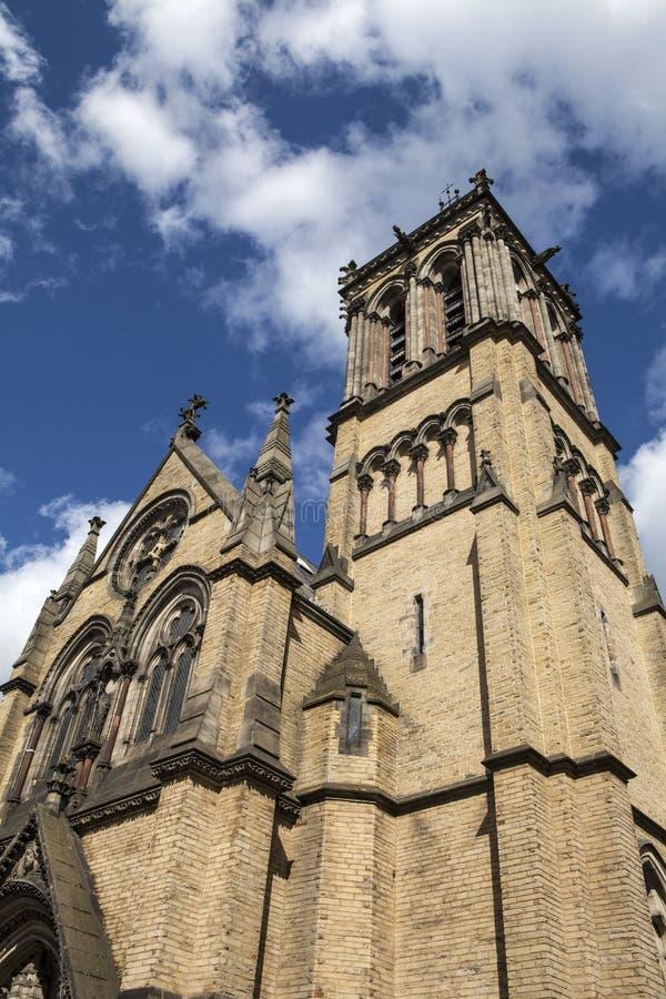 Iglesia católica del St Wilfrid en York imágenes de archivo libres de regalías