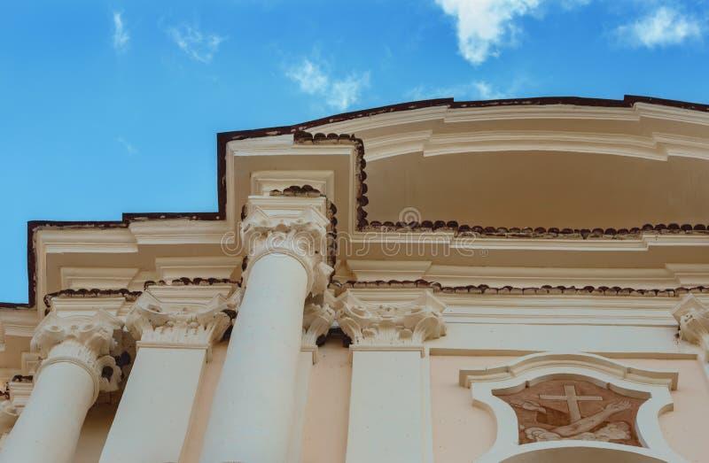 Iglesia católica en Budslav imagen de archivo
