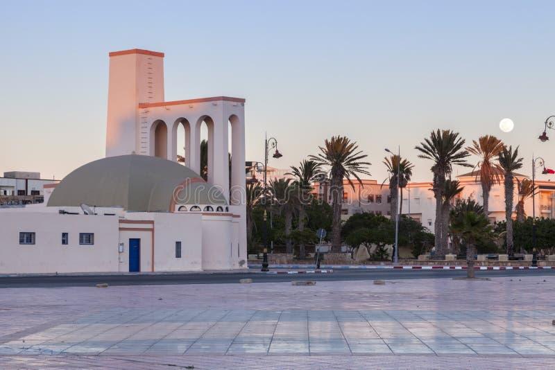 Iglesia católica en Dakhla imagen de archivo libre de regalías