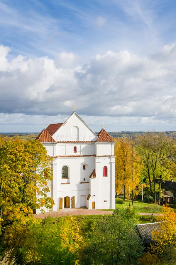 Iglesia católica en Novogrudok, Bielorrusia fotos de archivo libres de regalías