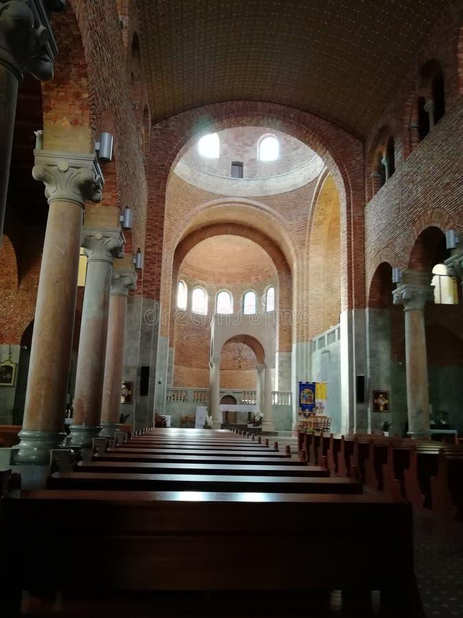 Iglesia católica en Opatija Croacia foto de archivo