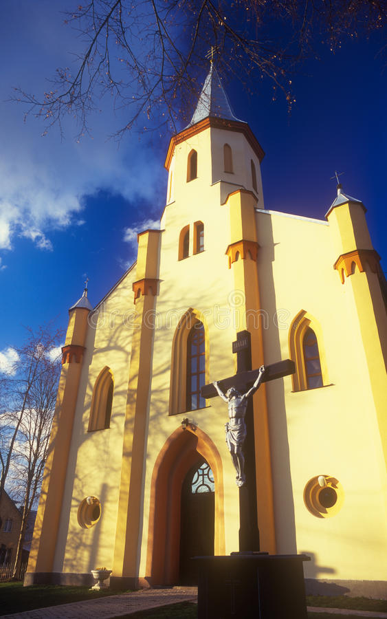 Iglesia católica griega ucraniana. fotografía de archivo