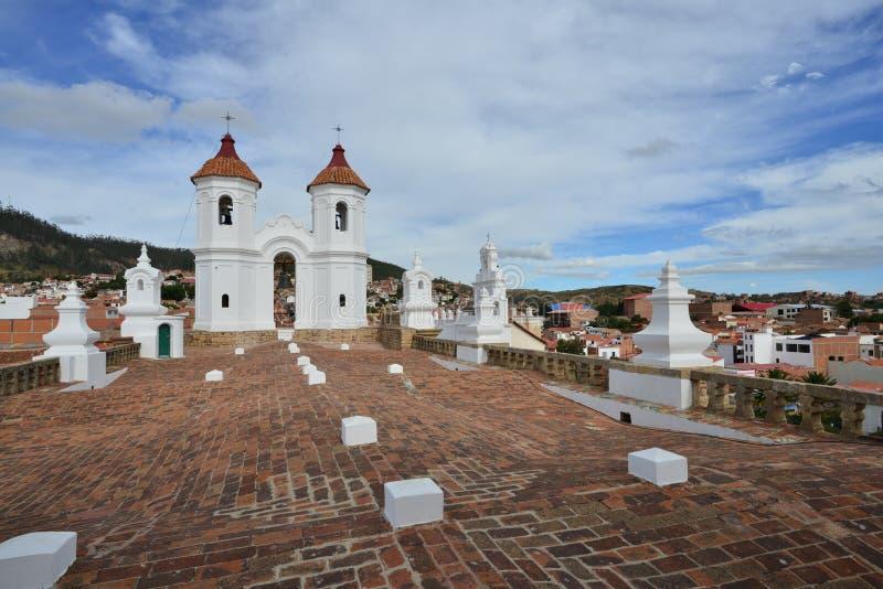 Iglesia Católica Romana en Bolivia, Catedral Metropolitana de Sucre fotos de archivo