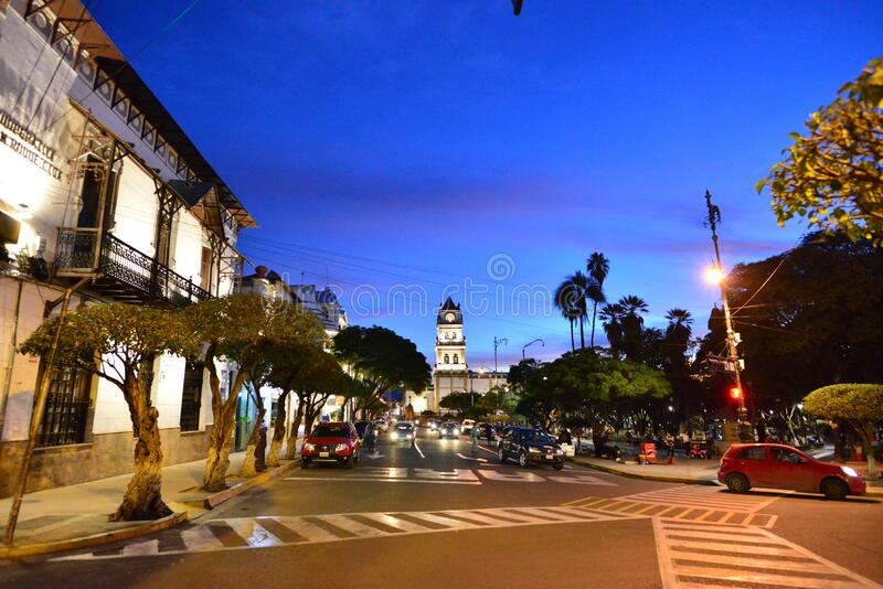 Iglesia Católica Romana en Bolivia, Catedral Metropolitana de Sucre imagen de archivo libre de regalías