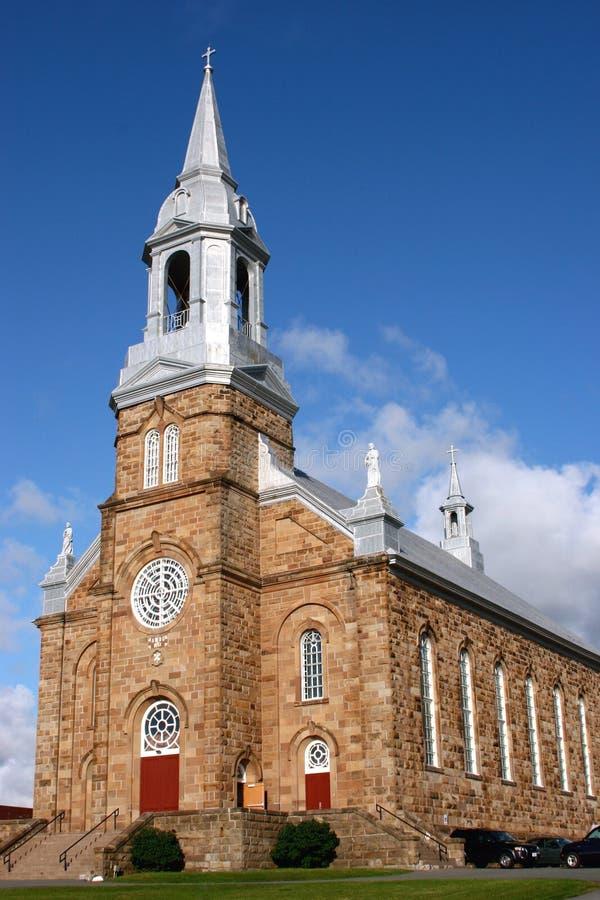 Download Iglesia-Cheticamp De San Pedro Imagen de archivo - Imagen de nubes, steeples: 1278671
