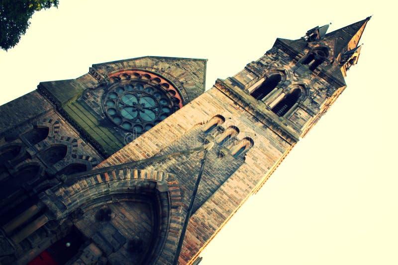 Iglesia clásica de Edimburgo imagenes de archivo