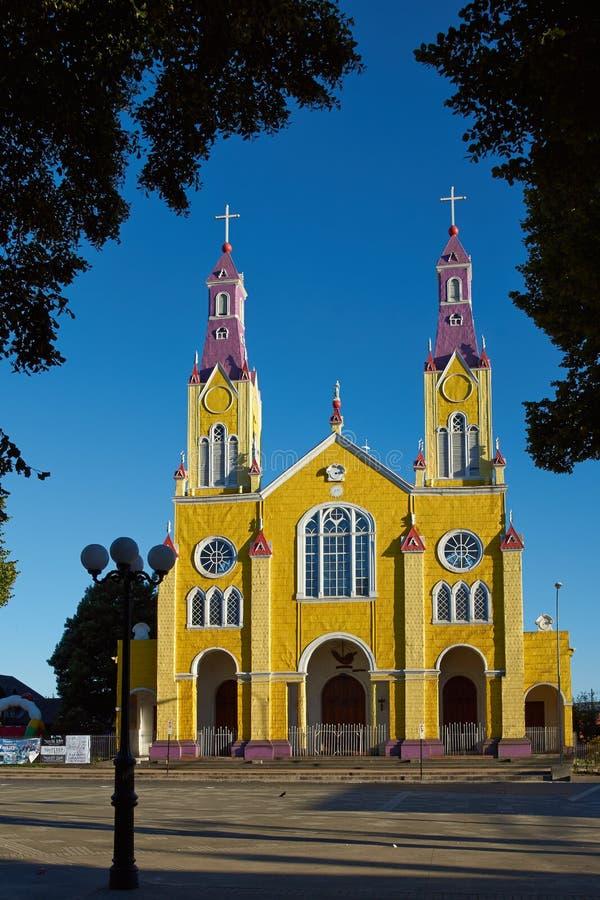 Iglesia colorida imagen de archivo
