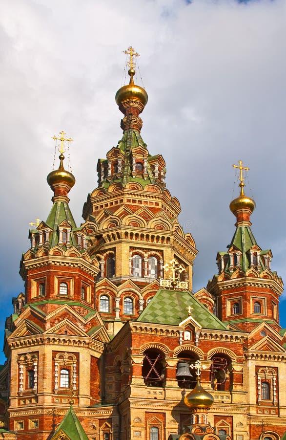 Iglesia cristiana en la Federación Rusa foto de archivo