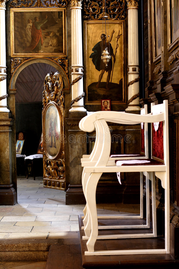 Iglesia cristiana ortodoxa fotos de archivo libres de regalías