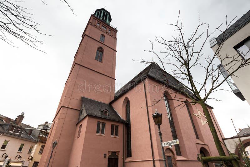 Iglesia Darmstad Alemania de Stadtkirche foto de archivo libre de regalías