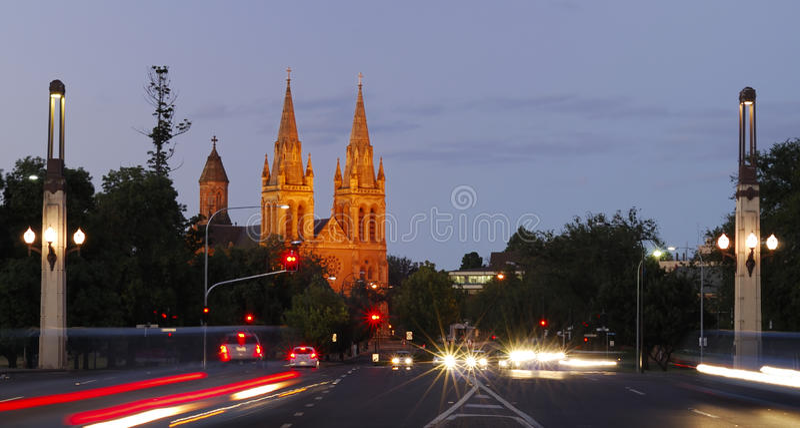 Iglesia de Adelaide fotos de archivo