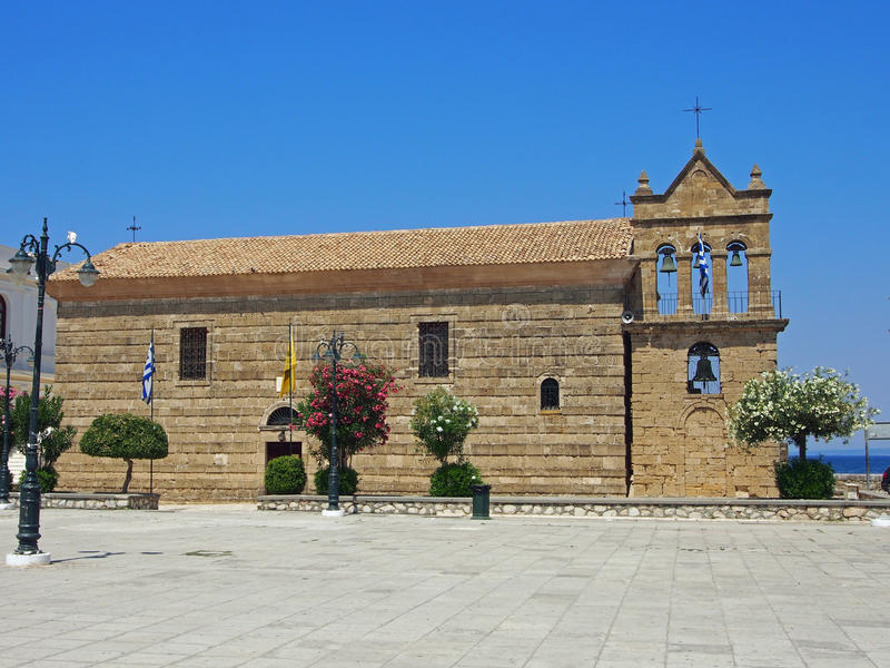 Iglesia de Agios Nikolaos foto de archivo libre de regalías