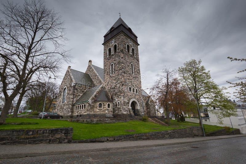 Iglesia de Alesund, Alesund foto de archivo