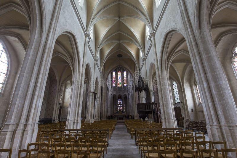 Iglesia de Antoine del santo, Compiegne, Oise, Francia fotos de archivo libres de regalías