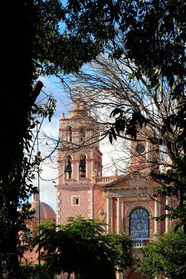 Iglesia de Asuncion del la de Santa María de imagen de archivo