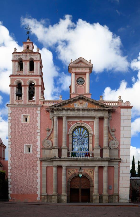 Iglesia de Asuncion del la de Santa María de foto de archivo