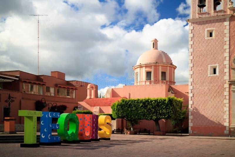 Iglesia de Asuncion del la de Santa María de imágenes de archivo libres de regalías