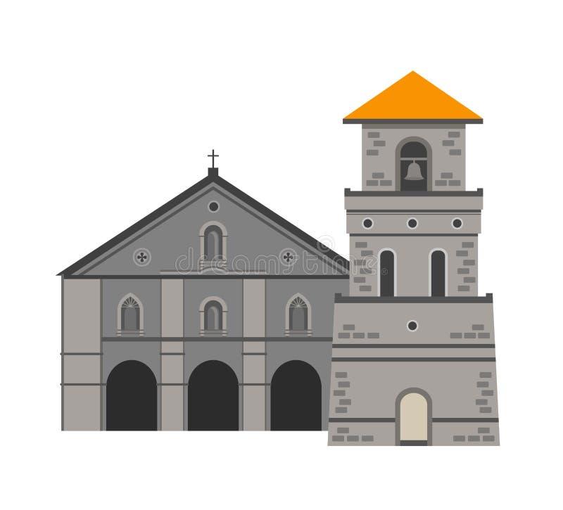 Iglesia de Baclayon ilustración del vector