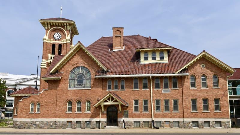 Iglesia de Battle Creek imágenes de archivo libres de regalías