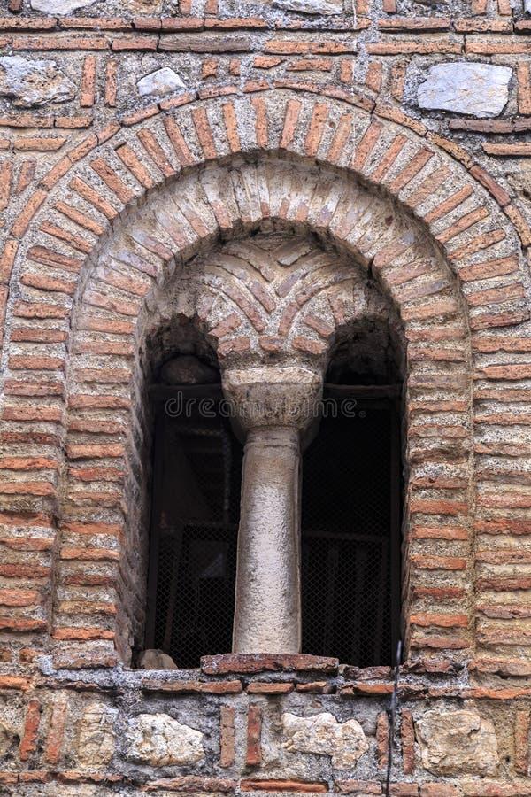Iglesia de Bizancio de St Sofía en Ohrid imágenes de archivo libres de regalías