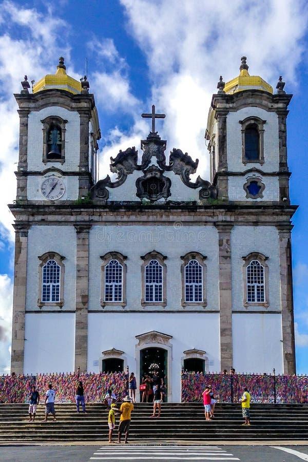 Iglesia de Bonfim foto de archivo libre de regalías