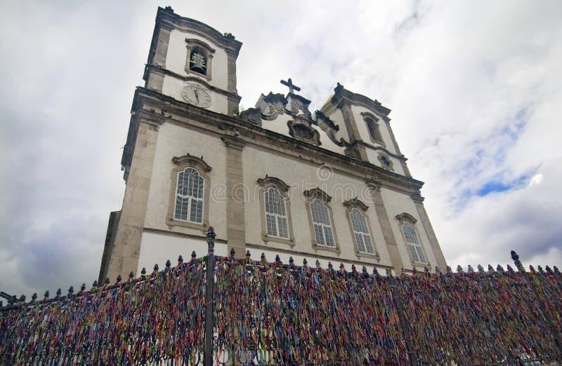 Iglesia de Bonfim, el Brasil fotografía de archivo libre de regalías