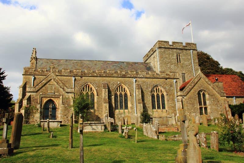 Iglesia de Boughton Monchelsea fotos de archivo