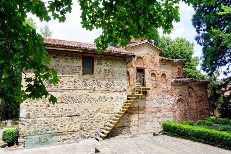 Iglesia de Boyana fotografía de archivo libre de regalías