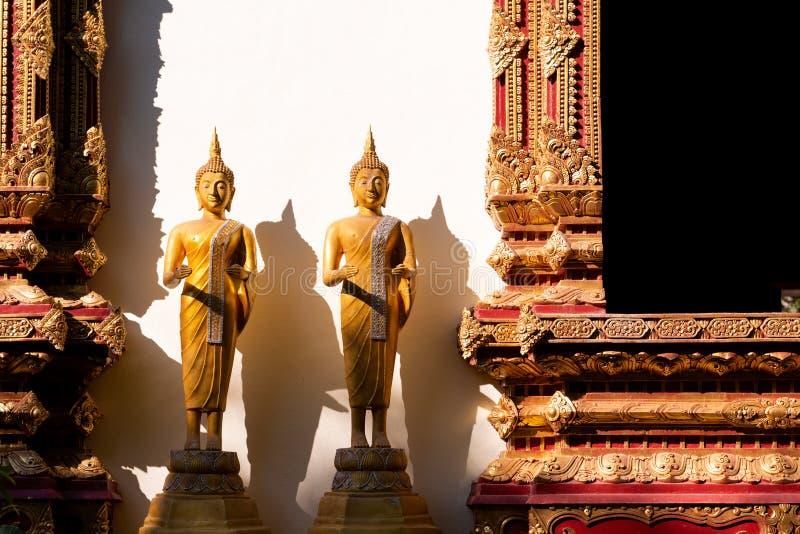 Iglesia de Buda en la igualación de la luz imagen de archivo