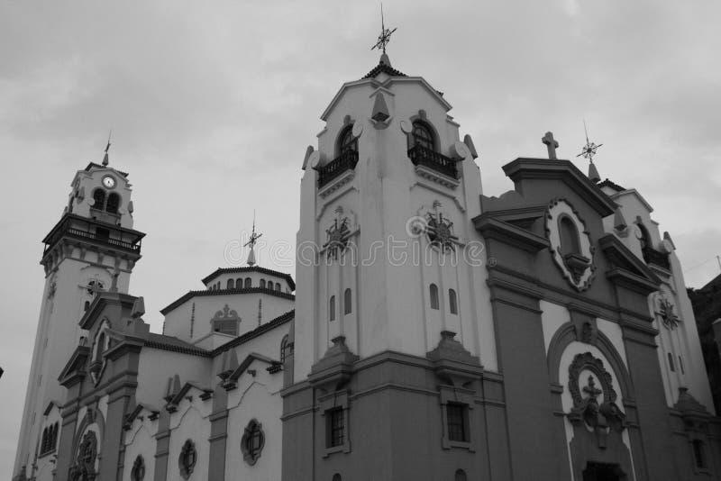 Iglesia de Candelaria en la isla de Tenerife fotos de archivo libres de regalías