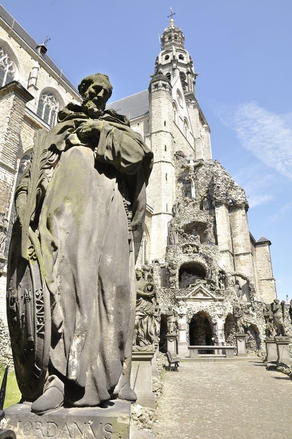 Iglesia de Charles Borromeo del santo, Amberes Bélgica fotografía de archivo