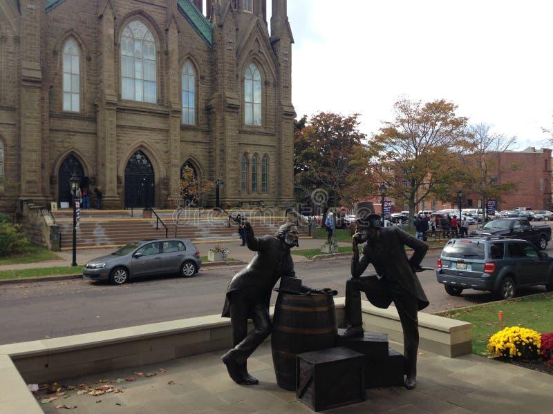 Iglesia de Charlottetown imágenes de archivo libres de regalías
