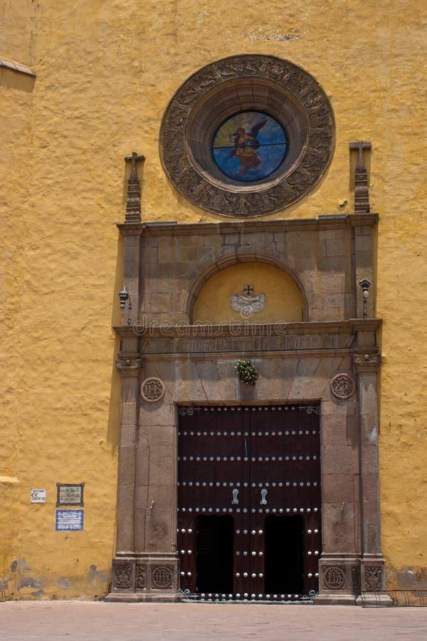 Iglesia de Cholula imagenes de archivo