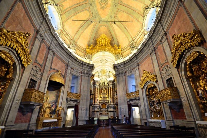 Iglesia de Clerigos imagen de archivo