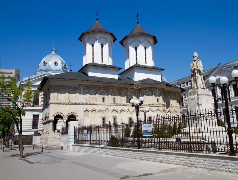 Iglesia de Coltea imagen de archivo libre de regalías