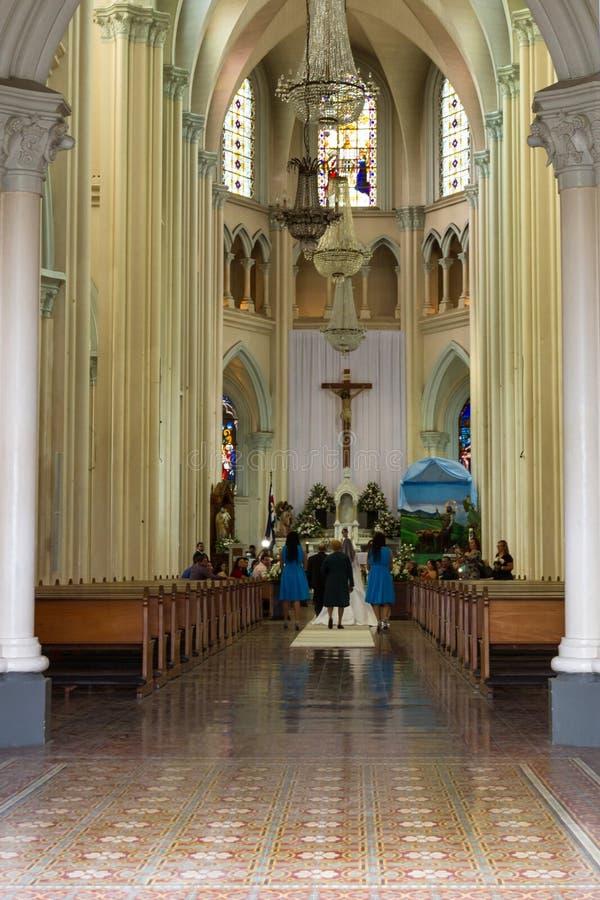 Iglesia De Coronado, Costa Rica photo stock