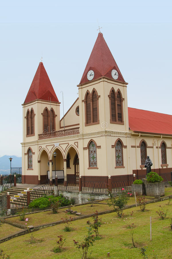 Iglesia de Costa Rica imagenes de archivo