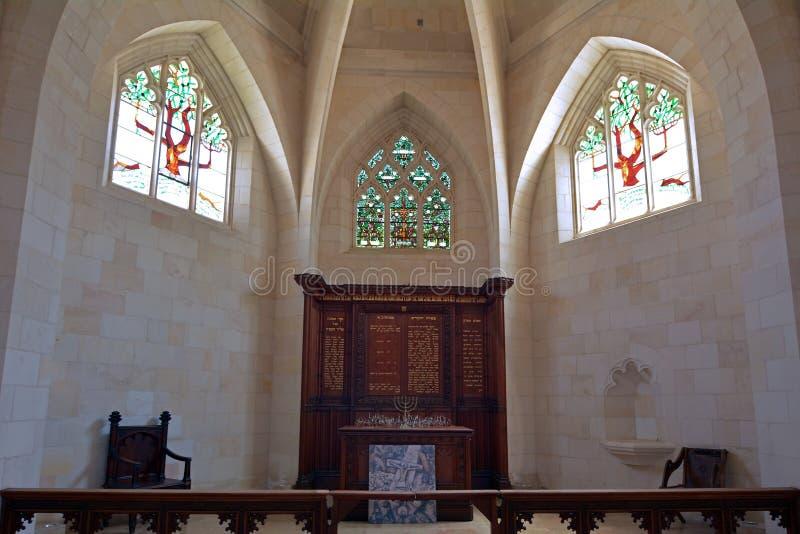Iglesia de Cristo en Jerusalén - Israel imagen de archivo libre de regalías