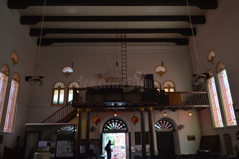 Iglesia de Cristo en Stadthuys Malaca fotos de archivo libres de regalías